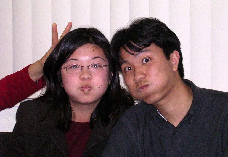 Lisa and Erik pufferfish