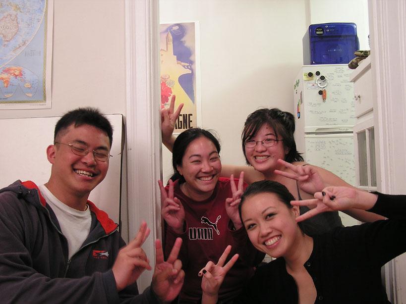Four 'Asian'
