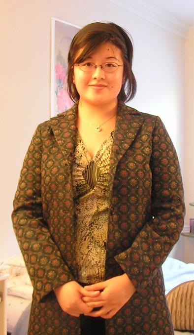 New clothes - coat