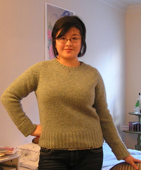 New clothes - sweater