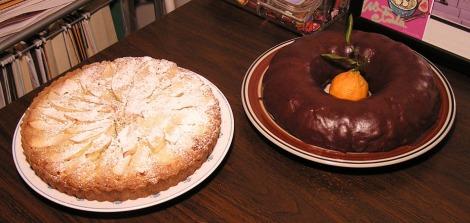 Desserts round