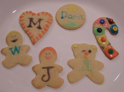 Cookies I made for others