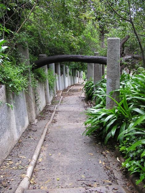 Closer down the path
