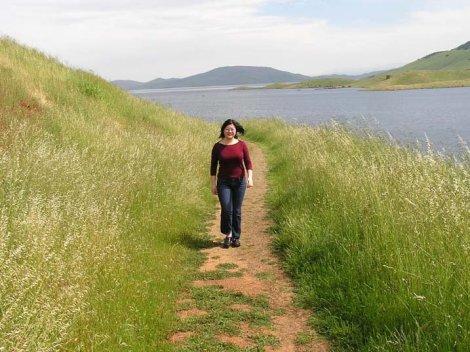 64.Lisa walking