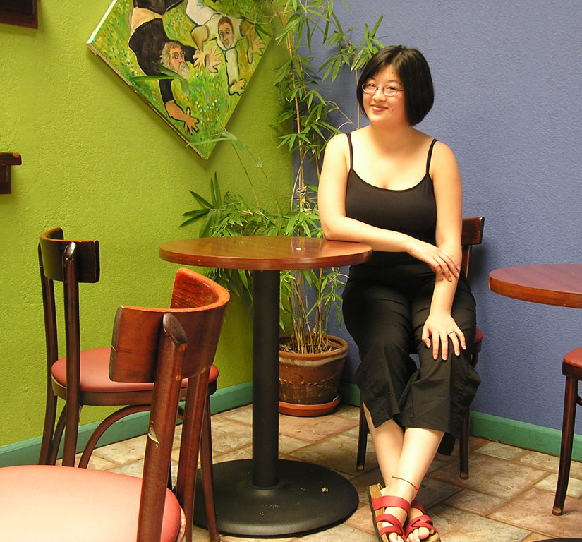 Lisa at Capoeira Arts Cafe