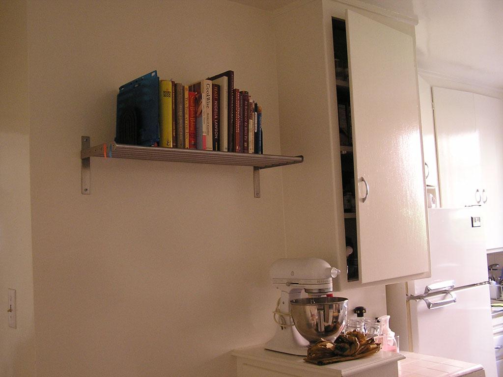 2006 April - New apartment - Wallmounts2