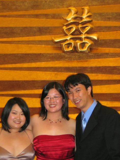 Jackie, Lisa, and Erik