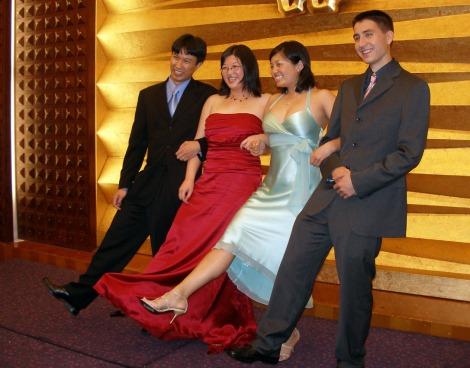 Lisa, Erik, Shra, and Devin