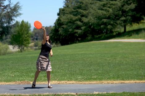 P - Al with frisbee