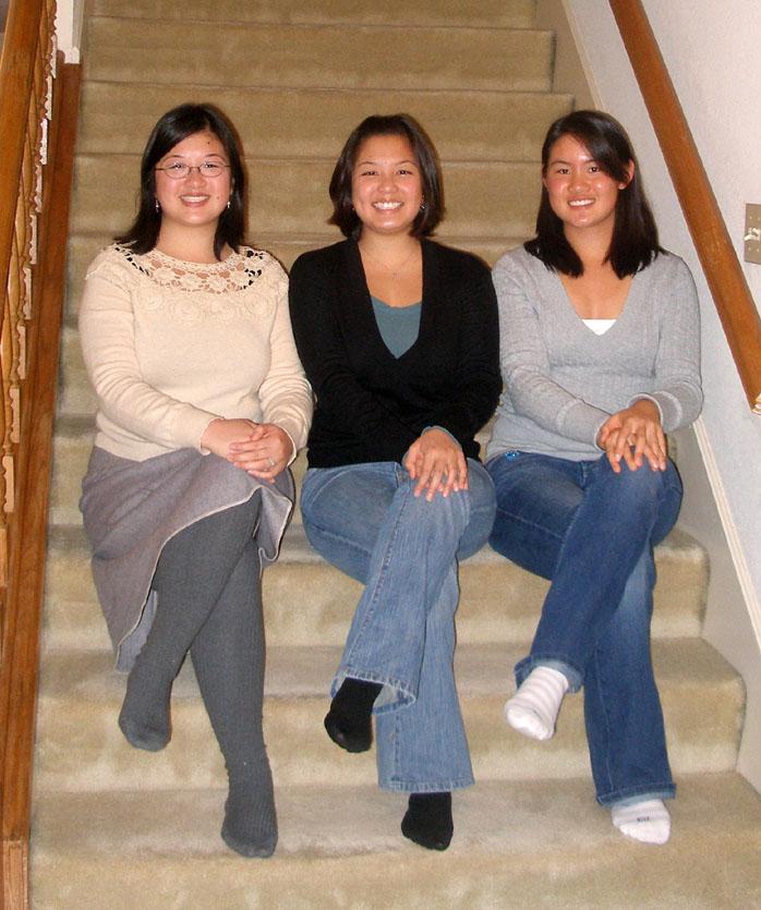 Threesisters sitting nicely