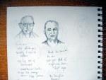 men sketches