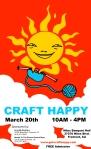 craft happy poster