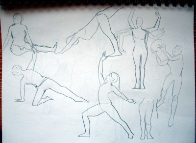 movement sketches