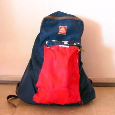 Slightly altered backpack
