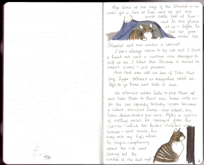 Sketchbook Project Page 2