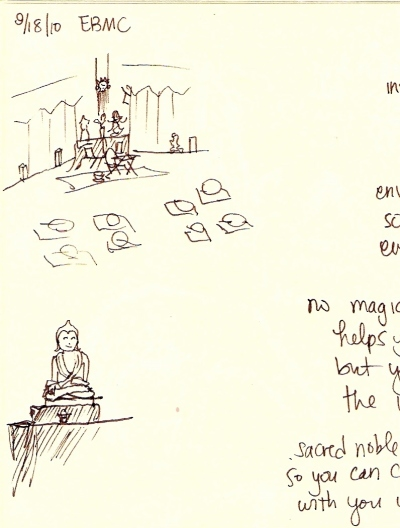 Sangha sketches