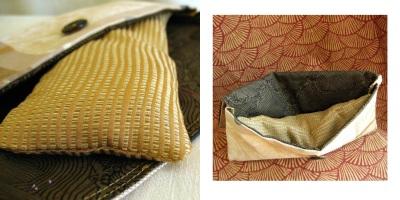 Gold Mine eye pillow set