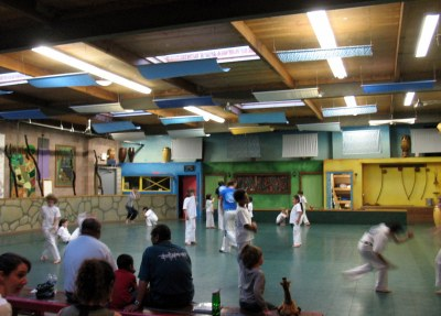 Capoeira kids' class