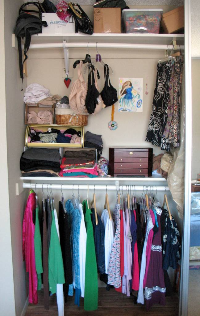 "Closet ""after"" (second angle)"