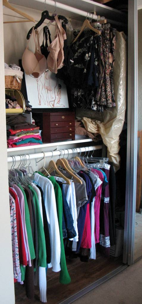 "Closet ""after"""