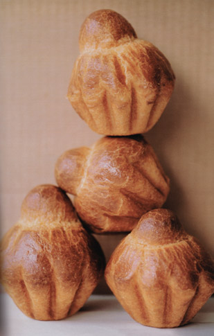 Four brioches