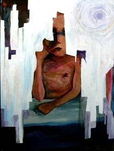 Jenn Zahrt self-portrait, November 2001