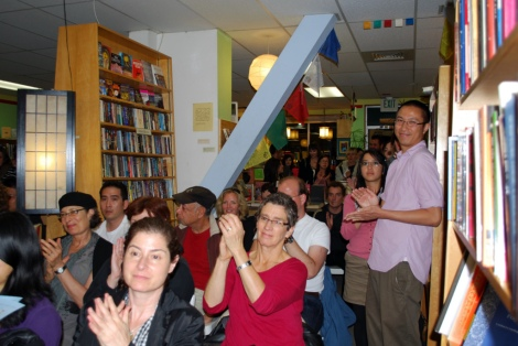 Forest Books Litcrawl audience