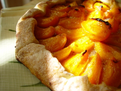 Apricot galette I made in 2002