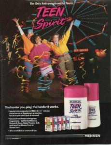 Teen Spirit ad