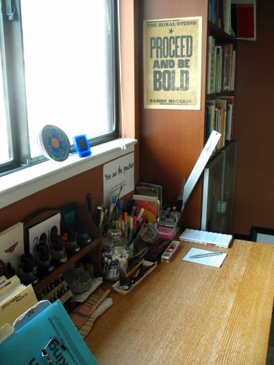 My writing and painting desk