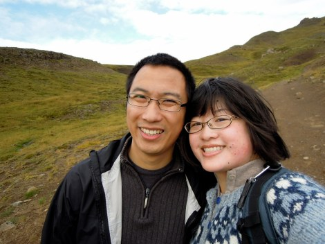 Lisa and Erik in Iceland