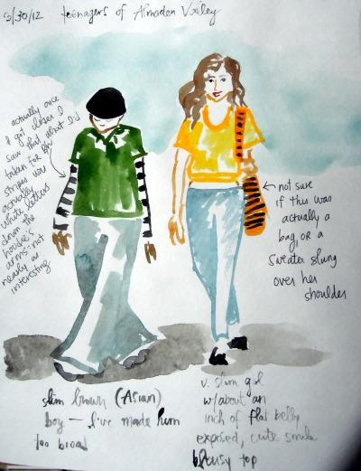 Teenagers of Almaden Valley