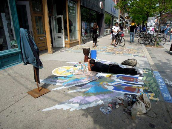 Street artist John Joseph Ciccone
