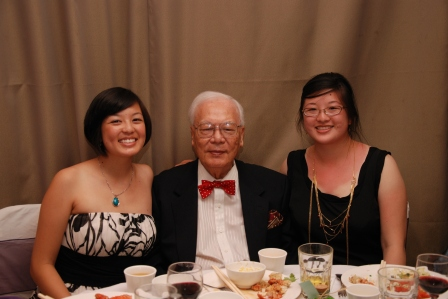 Sarah, Gong-Gong, and Lisa in 2009