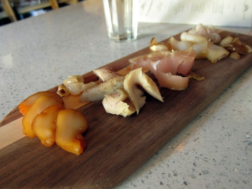 Cured fish board