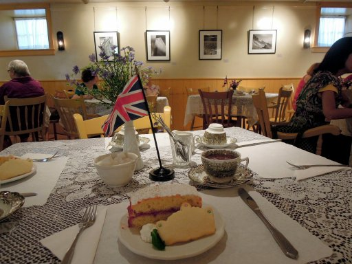 Afternoon tea on Victoria Day at Montgomery's Inn