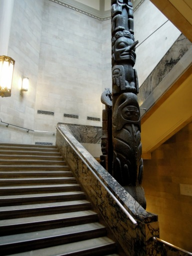 Staircase at the Royal Ontario Museum