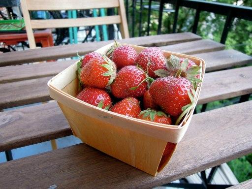 Québec strawberries