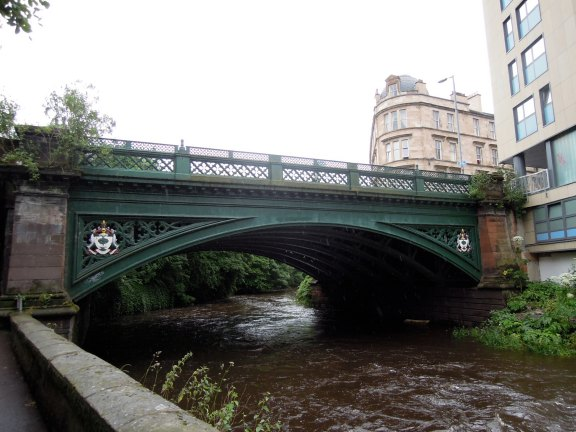 Footbridge over the Kelvin