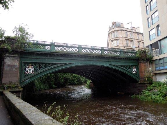 Footbridge over the Kelvin
