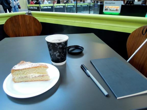 My afternoon tea and sketchbook