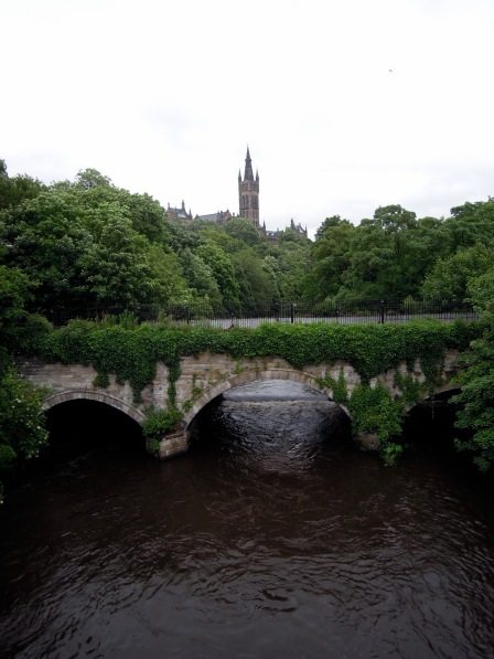 Another view over the Kelvin