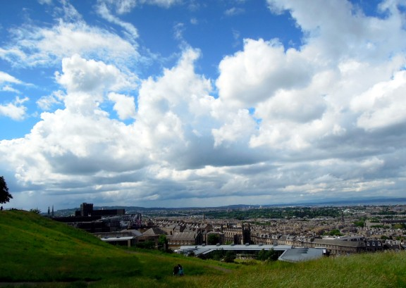 View of New Town from Calton Hill