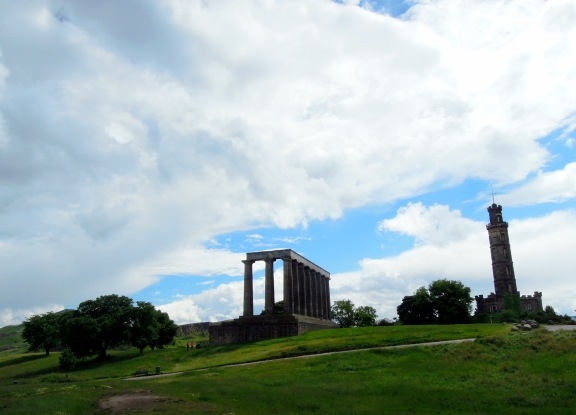 National Monument and Nelson Monument