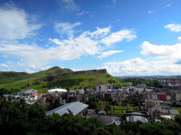 The epic green Salisbury Crags