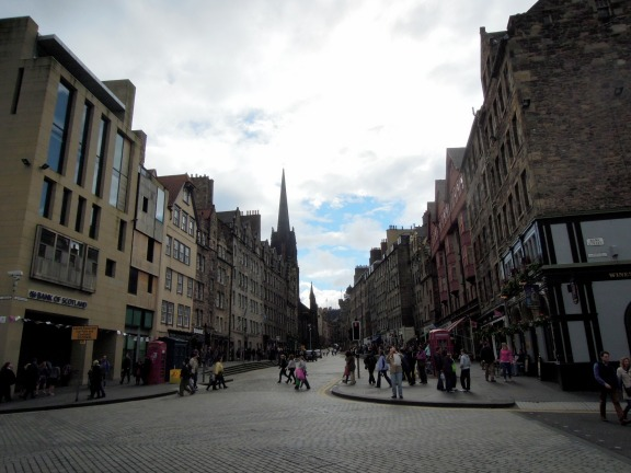 Shops and businesses along the Royal Mile