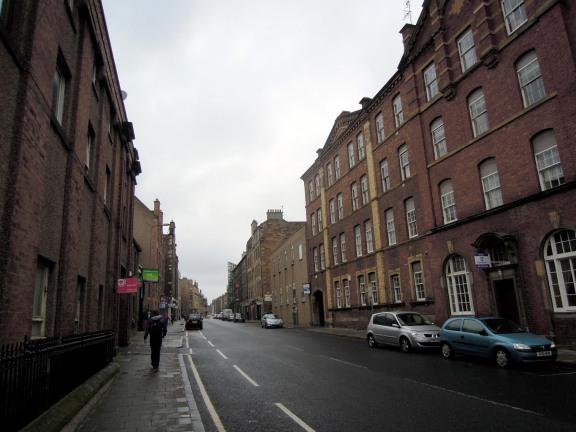 A busier street