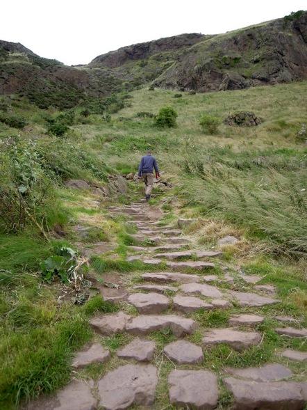Trail at Holyrood Park