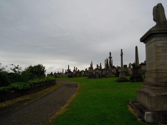 The atmospheric Necropolis, Glasgow.