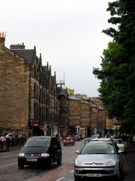 Bruntsfield Place, close to where it becomes Leven Street.